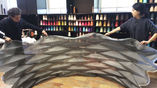 В рамках проекта созданы складные купола из одного куска ткани, которые в разложенном виде не нуждаются во внешних опорах.