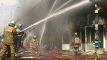 По предварительным оценкам, ущерб от крупного пожара в районе Лужников, составил 200 миллионов рублей