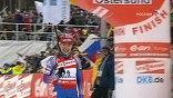 В шведском Эстерсунде, где проходит чемпионат мира по биатлону, завершилась десятикилометровая гонка преследования у женщин
