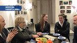 """На спектакль """"Горе от ума"""" в версии литовского режиссера Римаса Тeминаса приехал Владимир Путин с супругой"""