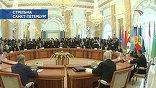 В Санкт-Петербурге накануне открытия международного экономического форума проходил традиционный неформальный саммит стран СНГ