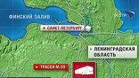 В Ленобласти пассажирский автобус столкнулся с грузовиком, который вез металлическую арматуру. Девять человек погибли, шестнадцать ранены