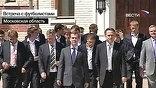Дмитрий Медведев в среду встретился со сборной страны по футболу и ее тренерами