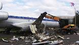 В Москве демонтирован Ту-154, в течение нескольких десятилетий стоявший на территории ВВЦ