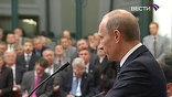 """Владимир Путин на встрече в ТПП предложил предпринимателям  не заниматься """"плачем Ярославны"""", а вместе разработать некоррупционный механизм господдержки"""