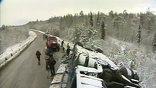 В Красноярском крае в ДТП с участием автобуса погибли 4 человека