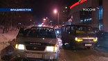 Внезапный мороз ошарашил водителей и на другом конце страны: весь Владивосток теперь  - как каток