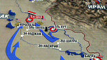Войска коалиции ведут наступление на иракскую столицу по трем направлениям