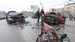 Две женщины погибли в результате аварии на Ленинском проспекте в Москве