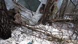 Ту-204 не долетел до аэропорта. Фото предоставлены пресс-службой Московского аэропорта Домодедово