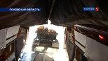 БМД-2 этот тип боевой десантной машины впервые выбрасывают из самолета с экипажем внутри.
