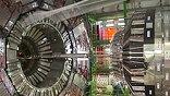 В 27-километровом кольце ускорителя сталкиваются пучки протонов