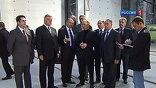 Владимир Путин посетил Свердловскую область