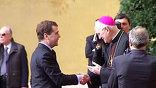 Официальный визит президента Дмитрия Медведева в Рим завершился подписанием пакета важных перспективных соглашений