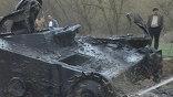 Со дна высохшей реки подняли танк Т-60, участвовавший в боях под Сталинградом