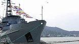 В испанском порту Картахена принимают участие и российские моряки. Отряд кораблей Черноморского флота проведёт совместные маневры с силами альянса. Цель учений – научиться спасать экипажи затонувших подлодок.