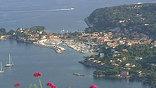 Вид на побережье Монако