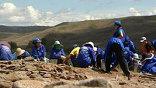 Археологические раскопки в Туве