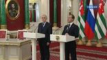 Дмитрий Медведев подписал законы о ратификации соглашений с Абхазией и Южной Осетией по российским военным базам на их территории.