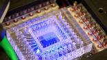 Микроструйное устройство, разработанное в Массачусетском технологическом институте для автоматического анализа ДНК на других планетах