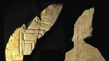 Снимок фрагментов, обнаруженных в гробнице Себекхотепа I в первые дни 2014 года на юге Абидоса