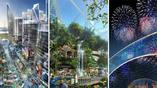 В городе-торговом центре будут расположены театры, культурные площадки и тематический парк