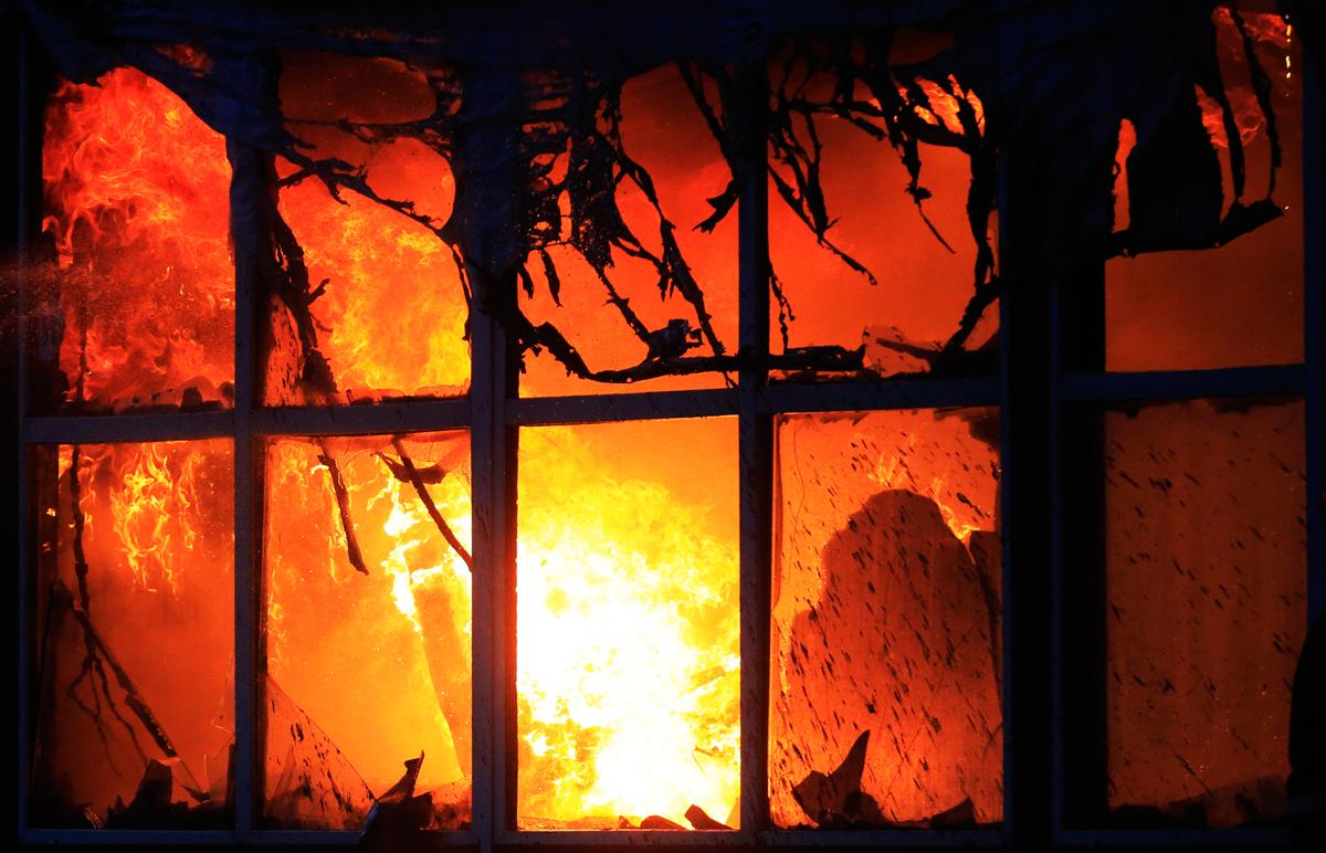 На Тунгуйском угольном разрезе в Бурятии ликвидирован крупный пожар