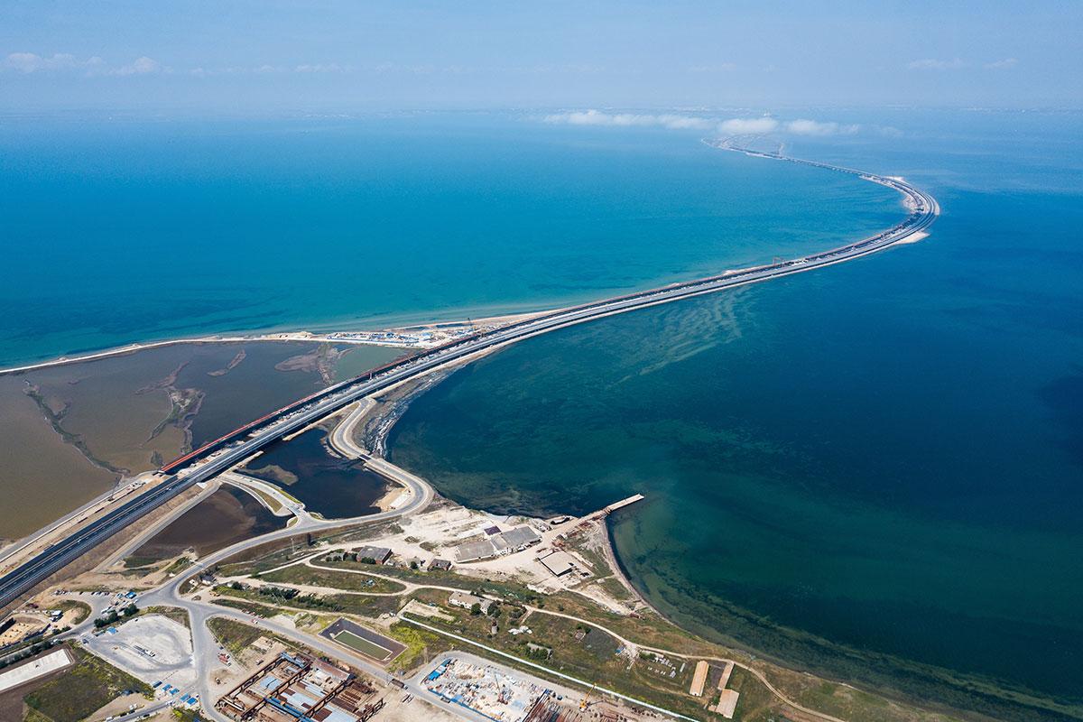 Матвиенко потрясена мостом через Керченский пролив