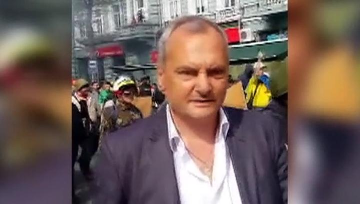 Суд отпустил на свободу боевика, избивавшего раненых в одесском Доме профсоюзов