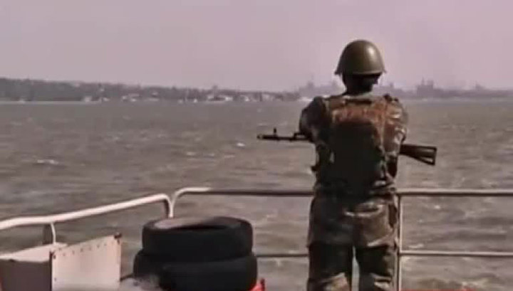 Украина до сентября перекрыла часть акватории Азовского моря