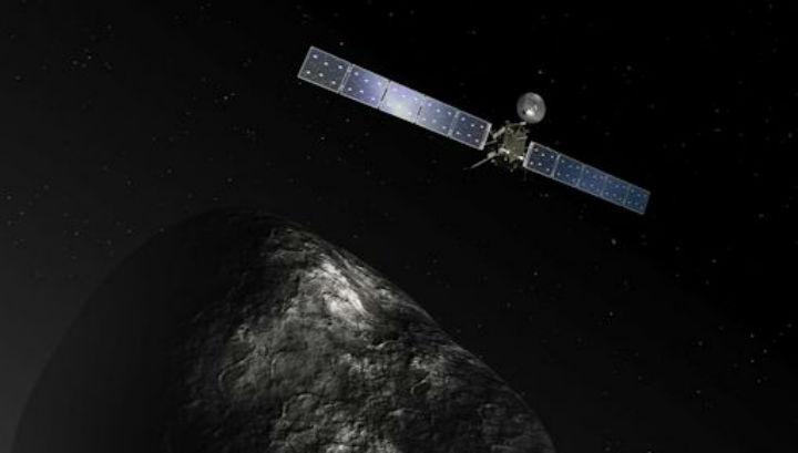 "Комета-жертва ""Розетты"" оказалась темнее угля"