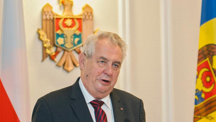 """Признание президента Чехии: в стране производили яд """"Новичок"""""""