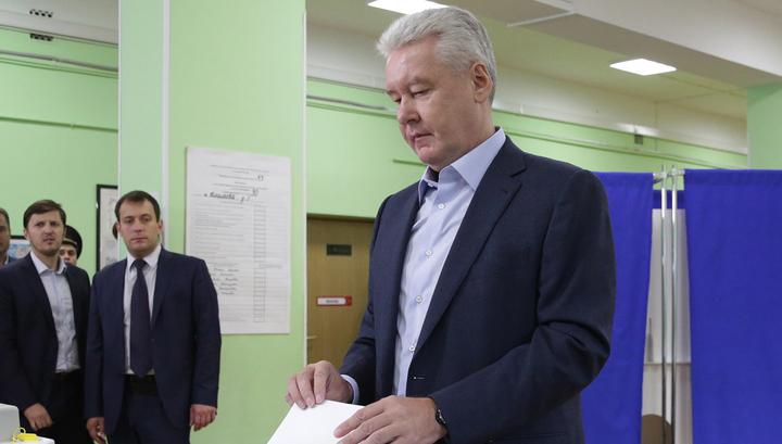 Собянин: выборы прошли честно и прозрачно