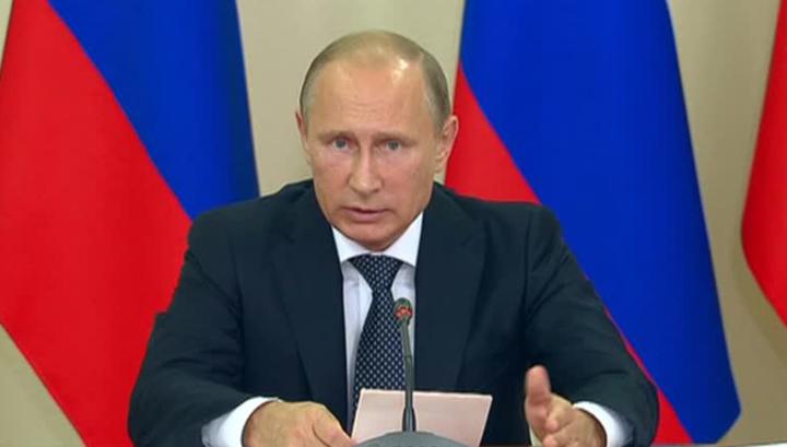 Путин обозначил четыре направления в сфере информационной безопасности