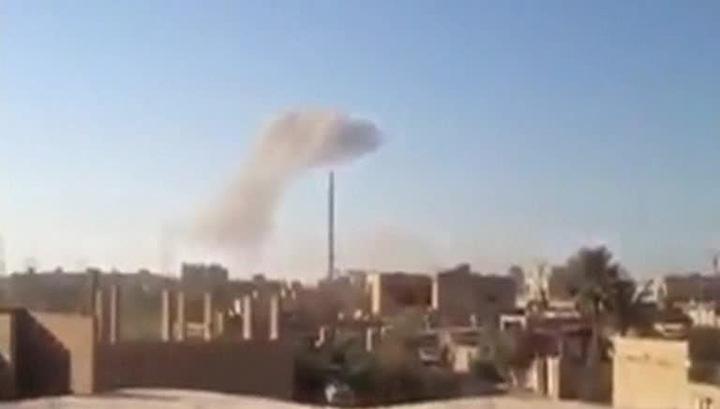 Первый удар: Сирию бомбят без санкции Совбеза ООН