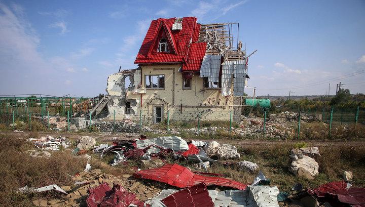 Украинская армия продолжает бомбить Донецк