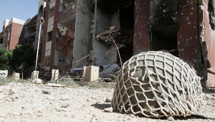 При минометном обстреле Дамаска российские дипломаты не пострадали