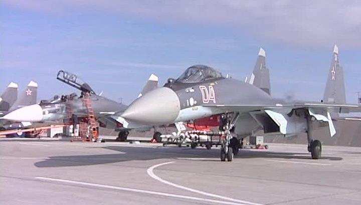 Пилоты модернизированного Су-35 способны остановить самолет в воздухе