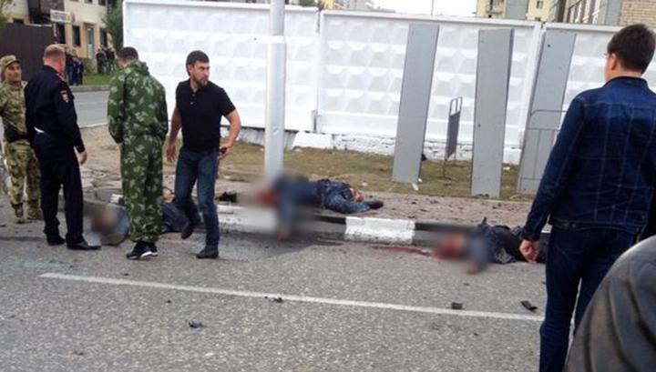 Погибших в Грозном полицейских представят к наградам