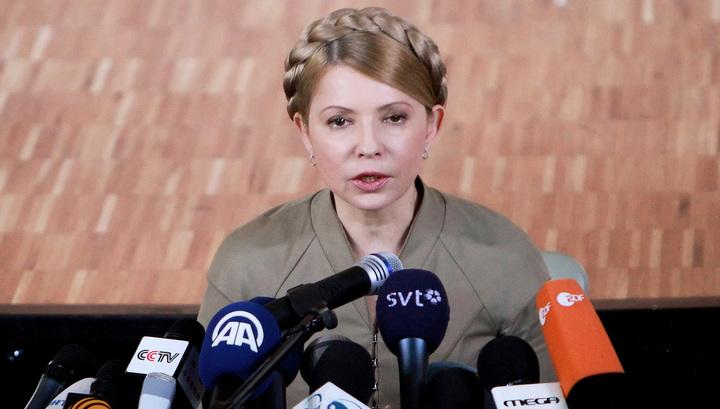 Юлия Тимошенко пыталась косой побороть сексуальность