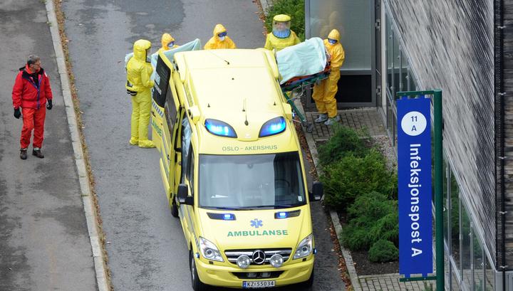 Норвежская медработница вылечилась от Эболы