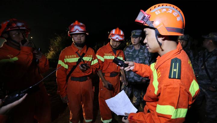 В Китае при обрушении строительных лесов погибли пять человек