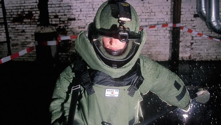 У стен волгоградской школы нашли крупнокалиберный снаряд времен войны
