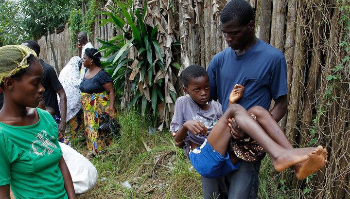 Россия продолжает помогать Африке в борьбе с Эболой