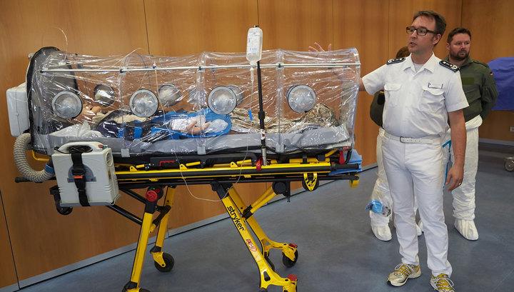 Германия разрабатывает транспортный самолёт для больных Эболой