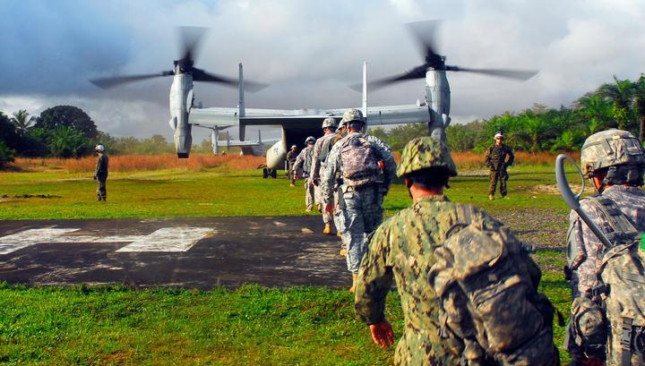 Американских военных из-за Эболы отправили на карантин