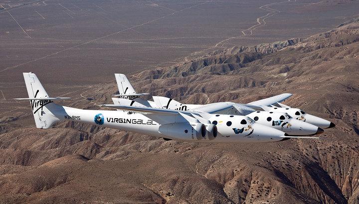 Ричард Брэнсон вылетает на место крушения SpaceShipTwo