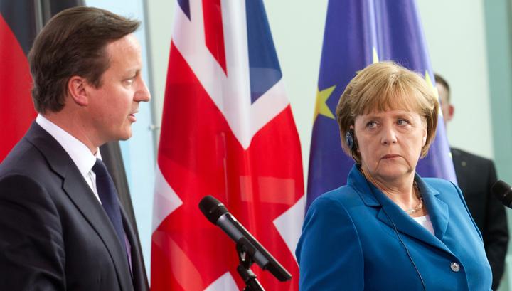 Меркель: Великобританию в Европе никто не держит