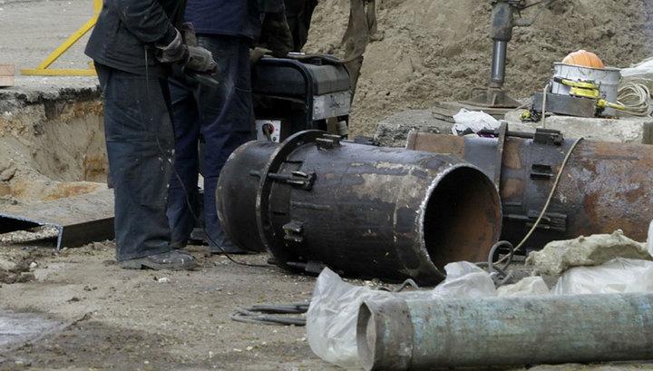 ВКраснодаре из-за утечки натеплотрассе без отопления остались 5 тыс. человек