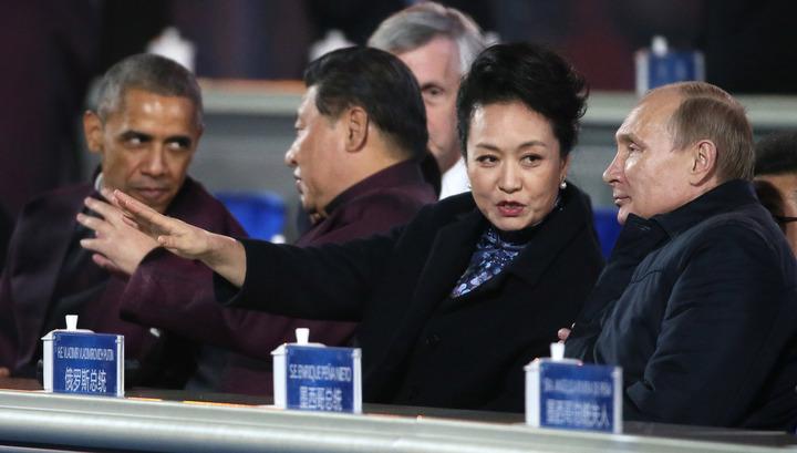 Песков: Путин и Обама поприветствовали друг друга, но беседы не было
